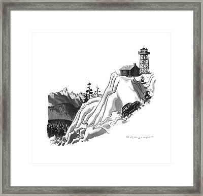 Well, This Is A Surprise! Framed Print