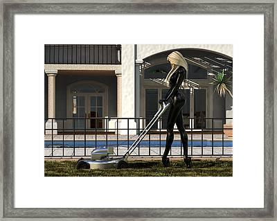 Well Trained Framed Print