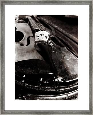 Well Used Instrument Framed Print by Scott Kingery