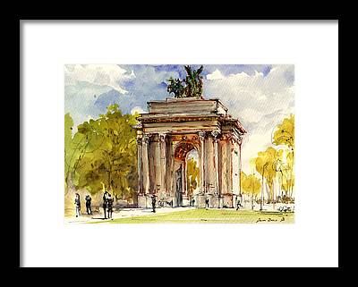 Hyde Park Framed Prints