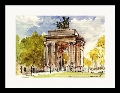 Hyde Park Framed Prints