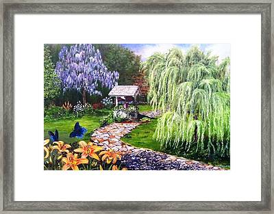 Wellness Framed Print by Kevin F Heuman
