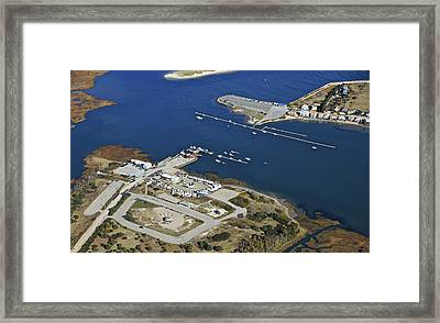 Wells Boat Launch, Wells Framed Print by Dave Cleaveland