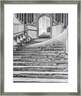 Wells Cathedral Chapter House Stairs Framed Print