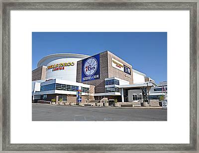 Wells Fargo Center Framed Print