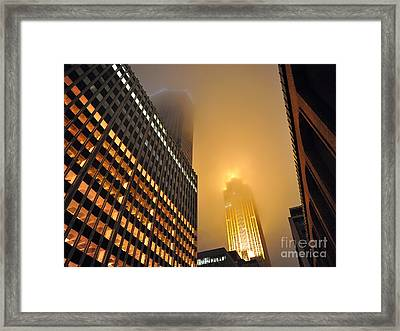 Wells Fargo Center - Minnesota Framed Print by Graham Taylor