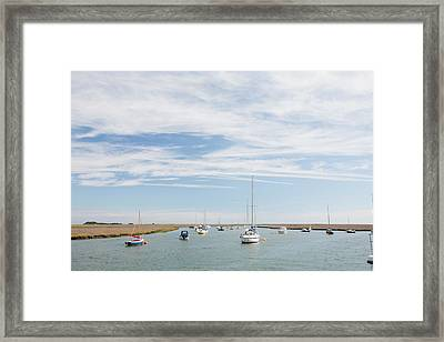 Wells-next-the-sea In North Norfolk Framed Print by Ashley Cooper