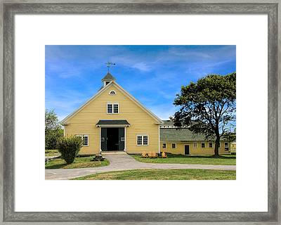 Wells Reserve Barn Framed Print