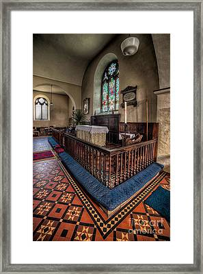 Welsh Chapel Framed Print by Adrian Evans