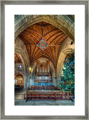 Welsh Christmas Framed Print by Adrian Evans