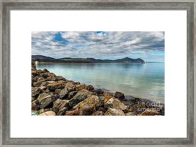 Welsh Coast Framed Print by Adrian Evans