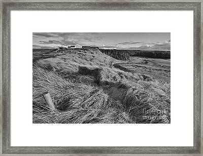 Framed Print featuring the photograph Welsh Downs  by Gary Bridger