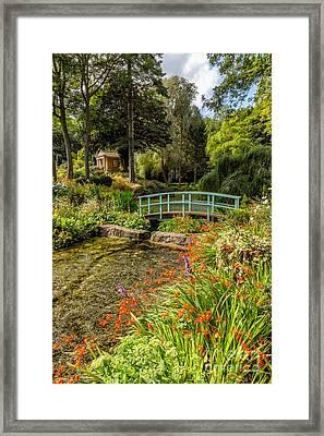 Welsh Garden Framed Print by Adrian Evans