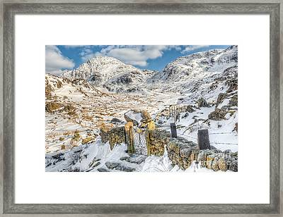 Welsh Gate  Framed Print