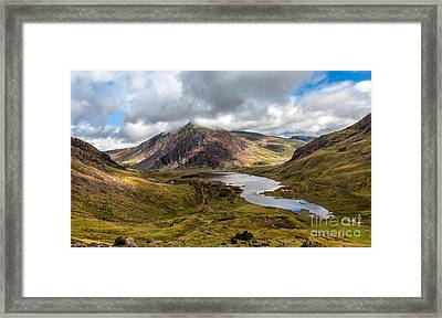Welsh Mountains Framed Print