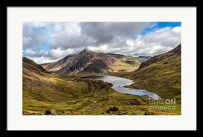 Llyn Idwal Framed Prints