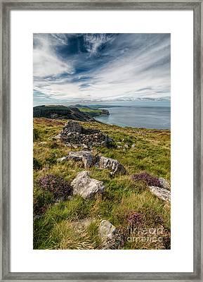 Welsh Peninsula Framed Print by Adrian Evans