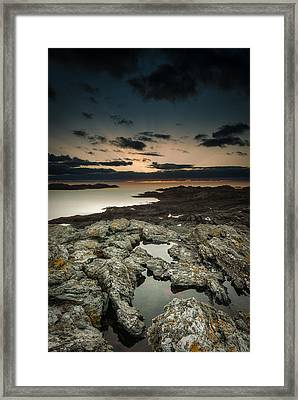Welsh Seascape Framed Print by Andy Astbury