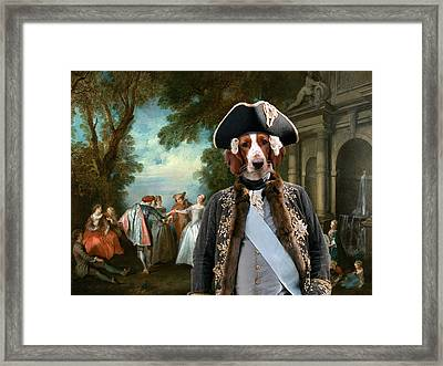 Welsh Springer Spaniel Art Canvas Print Framed Print