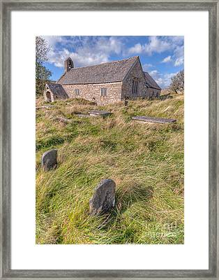Welsh Tombs Framed Print
