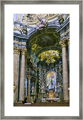 Weltenburg Abbey  II Framed Print