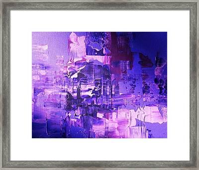 Weltschmerz Framed Print
