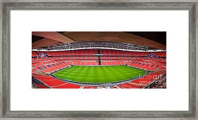 Wembely Stadium Framed Print