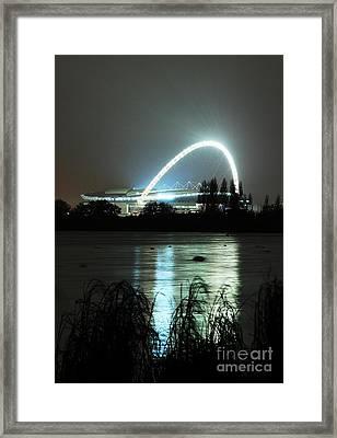 Wembley London Framed Print