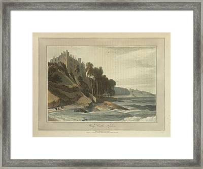 Wemys Castle In Fifeshire Framed Print by British Library