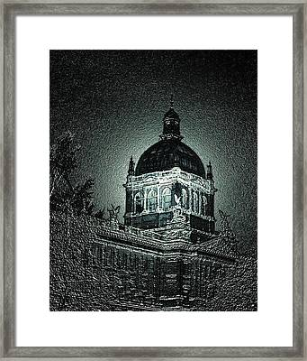 Wenceslas Square Framed Print by Steve Godleski