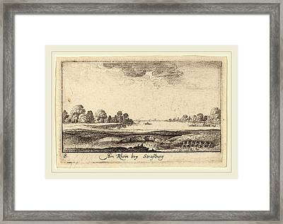 Wenceslaus Hollar Bohemian, 1607-1677, Strasbourg The Toll Framed Print by Litz Collection