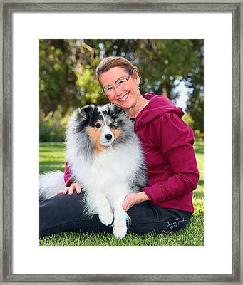 Wendy And Gch Swish Framed Print by Chris Lynch