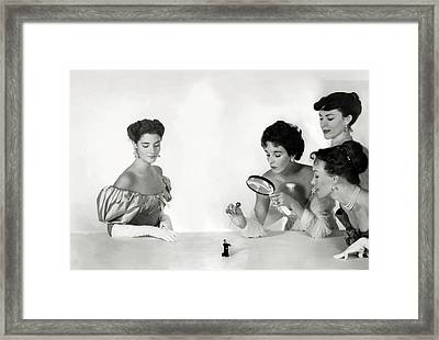 Wendy Burden Framed Print by Horst P. Horst