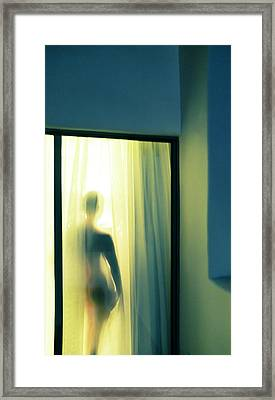 Wendy - Ojai Framed Print by David Jordan Williams