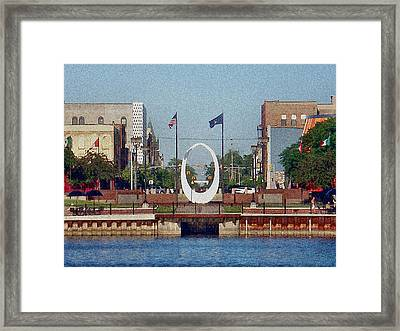 Wenonah Park Framed Print by Bill Noonan