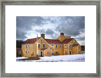 Wentworth Coolidge Mansion Framed Print by Eric Gendron
