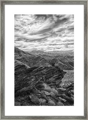 Were Andreas Meets Murray Bw 2 Framed Print by Scott Campbell