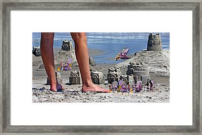 We're Moving In Framed Print by Betsy Knapp
