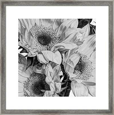 We're No Wall Flowers  Framed Print by Heidi Smith
