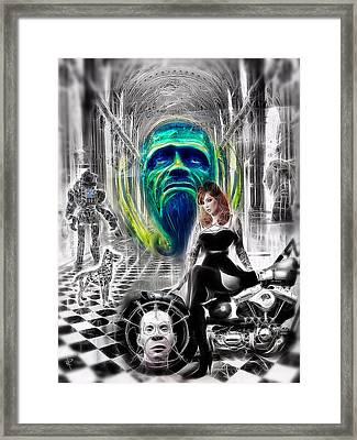 We're Not In Kansas Anymore Framed Print by Russell Pierce