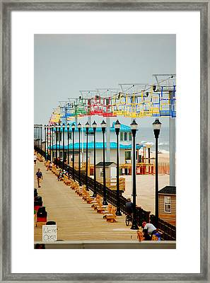We're Open Framed Print