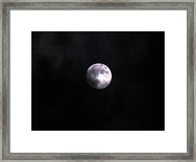 Werewolves By Night Framed Print