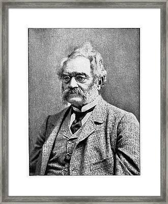 Werner Siemens Framed Print by Cci Archives