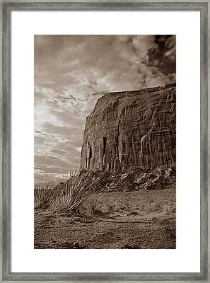 West 001 Framed Print