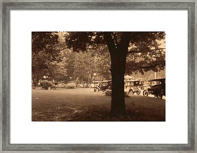 West Baden Framed Print by Emily Lowe