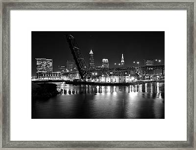 West Bank Of The Flats Framed Print by Frozen in Time Fine Art Photography