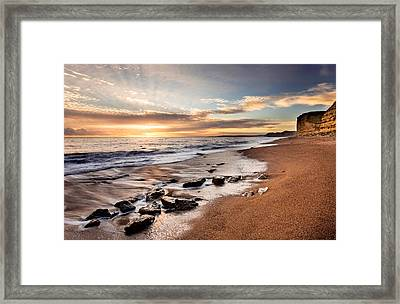 West Bay Framed Print by Ollie Taylor