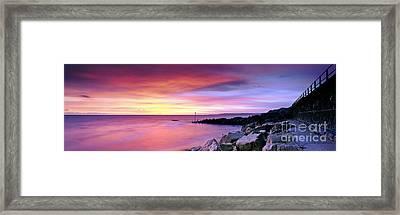 West Bay Framed Print