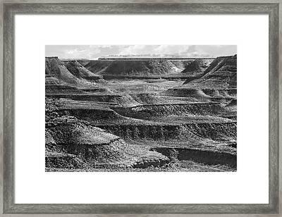 West Bound Framed Print