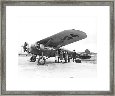 West Coast Air Transport Co. Framed Print